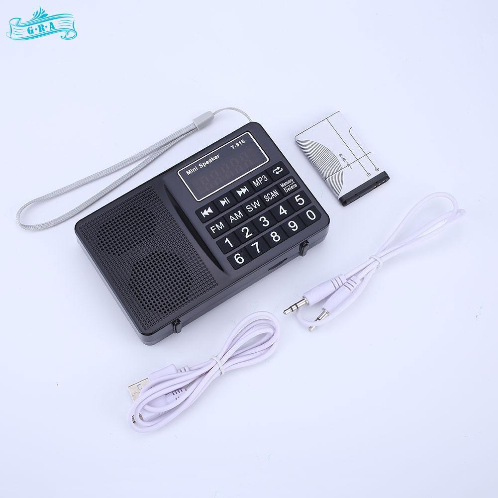 Flc491 Speaker Radio Dan Mp3 Mini Fleco F3336u Xbass Frekuensi Fm Am Portabel Flash Disk Mmc Ada Lampu Emergency Sw With Shopee Indonesia