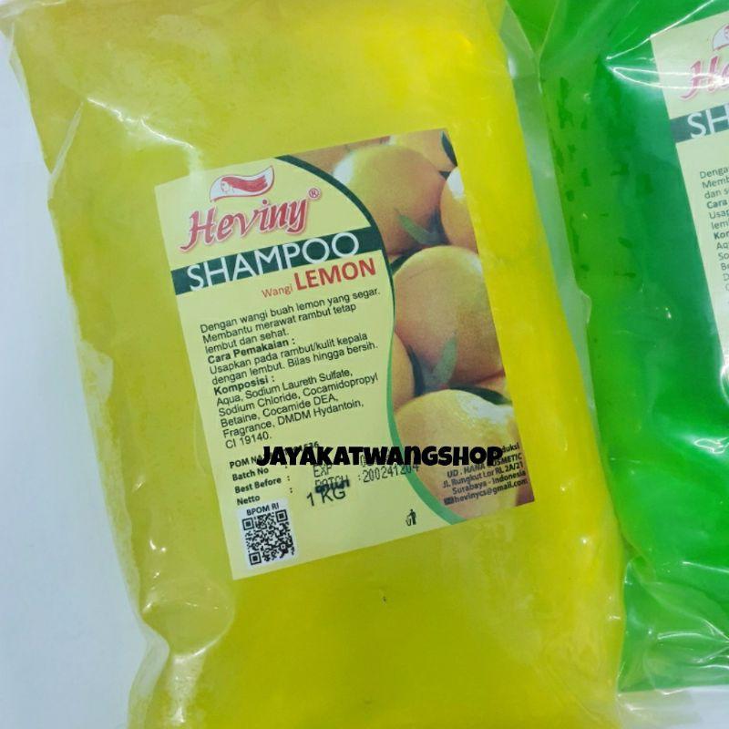 HEVINY Shampoo Refill 1000 ML / 1 KG-Lemon