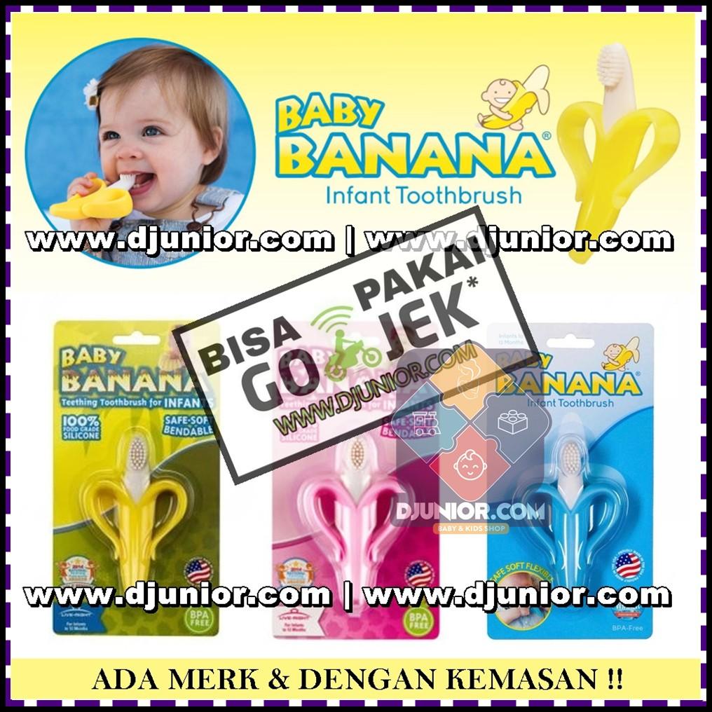 Mainan Baby Banana Daftar Harga November 2018 Teether Atau Gigitan Bayi Infant Toothbrush Pisang