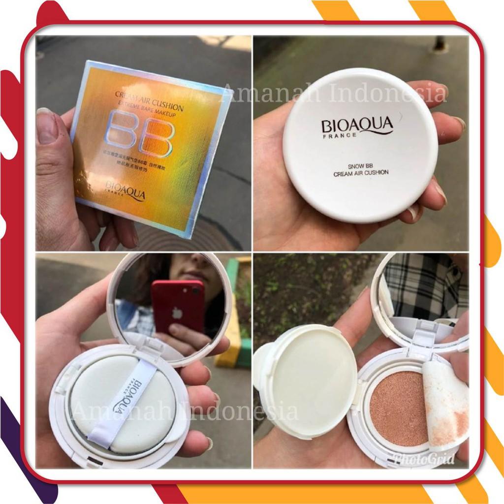Bioaqua Bb Cream Air Cushion Brightening Liquid Foundation Bio Aqua Aircusion Ori Original Asli Shopee Indonesia