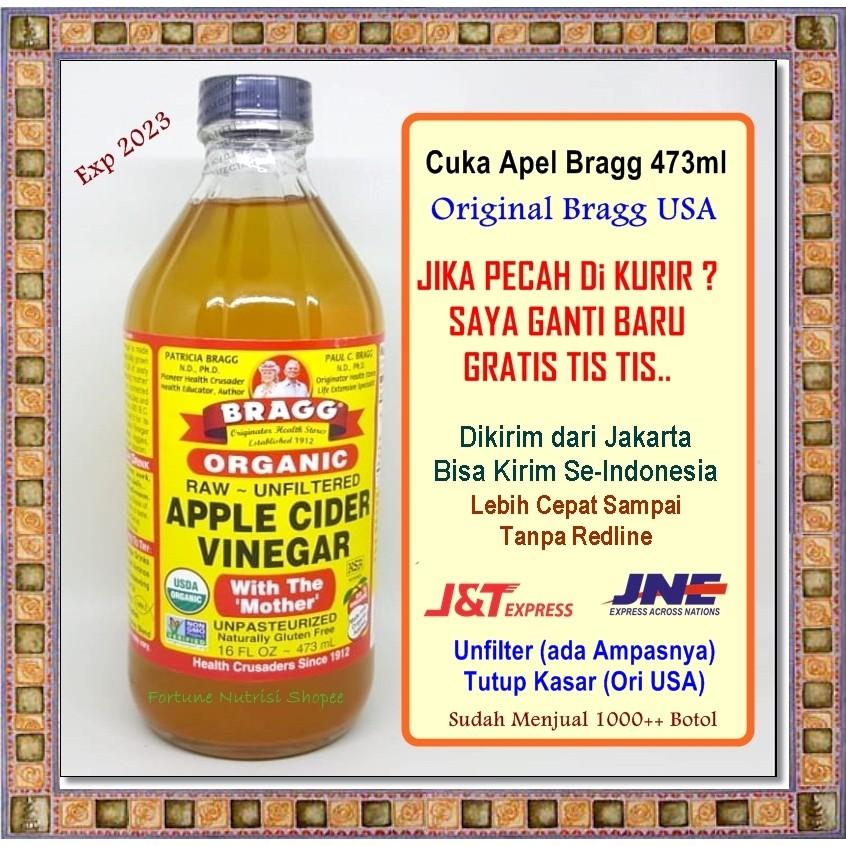 Cuka Apple Cider Vinegar Bragg