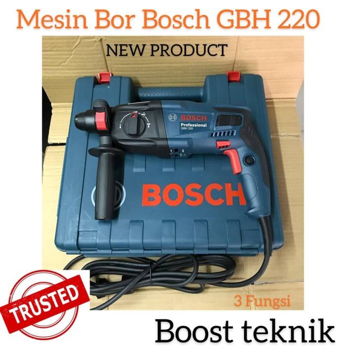 MESIN BOR BETON BOSCH GBH 220 / MESIN BOR BOSCH GBH220 / BOR BETON