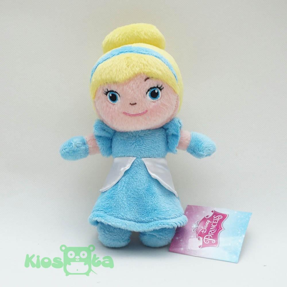 Bantal Boneka Princess Snow White Elsa Anna Cinderella Aurora Ariel Mermaid  Belle Frozen Rapunzel 3D  c0baa7259d