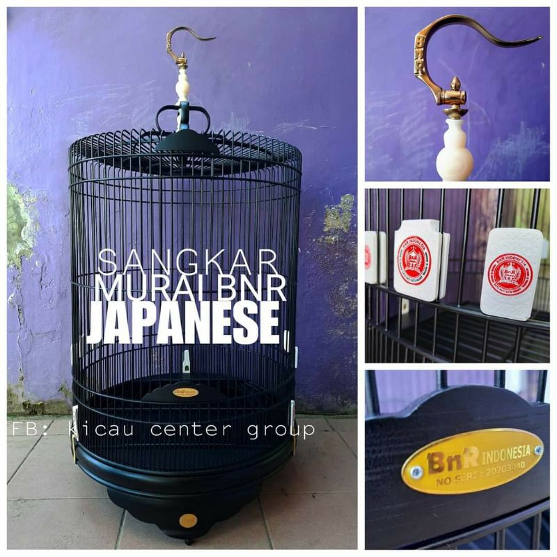 SANGKAR MURAI BNR JAPANESE NO.2
