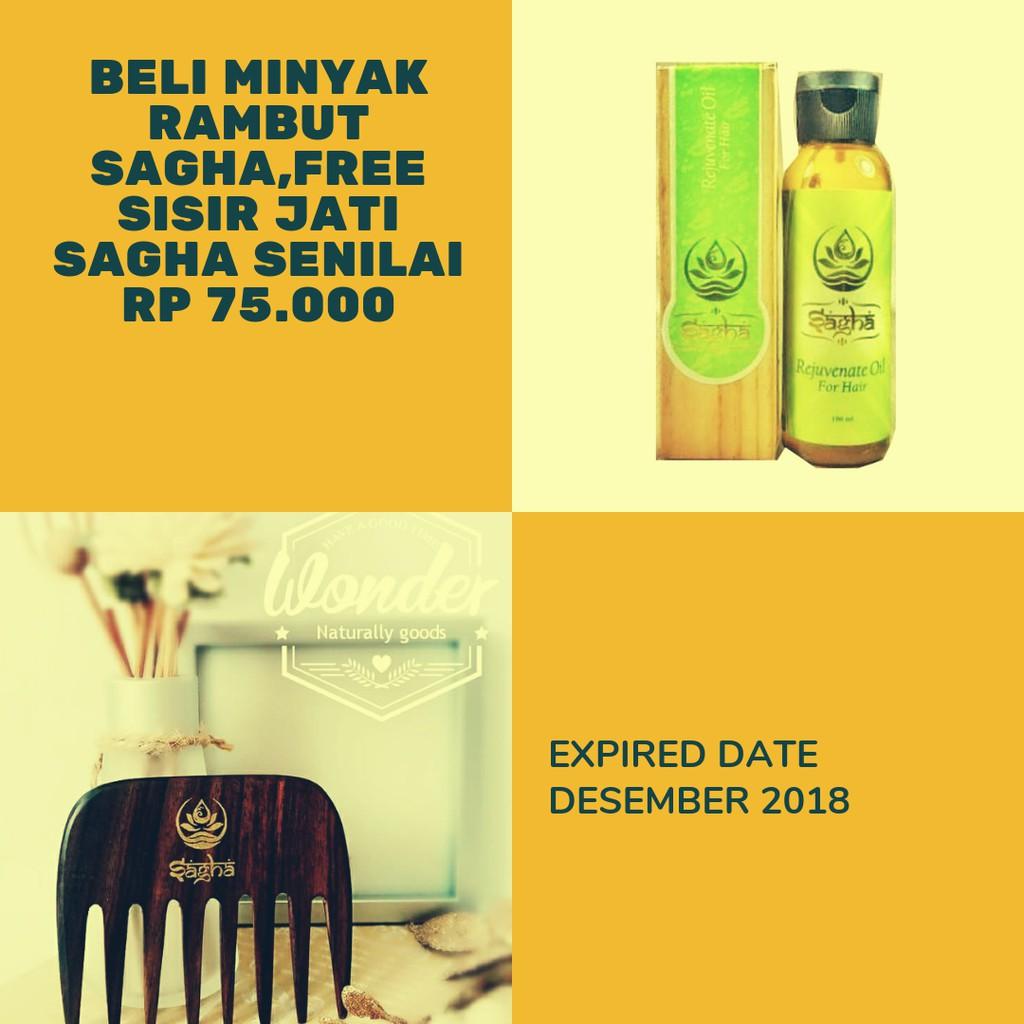 Minyak Rambut Sagha (MARS)   Sagha Rejuvenate Oil For Hair   Shopee Indonesia