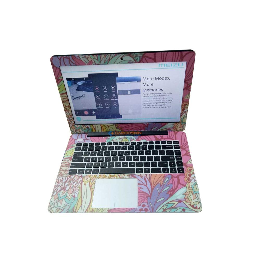Premium Garskin Laptop Full Body 3 Pcs Desain Bebas Asus Acer Dell