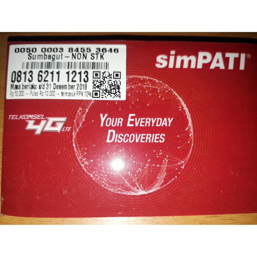 NOMOR CANTIK SIMPATI 4G SERI MAJU MAPAN MANGAN HOKI - 081262 57 58 59 | Shopee