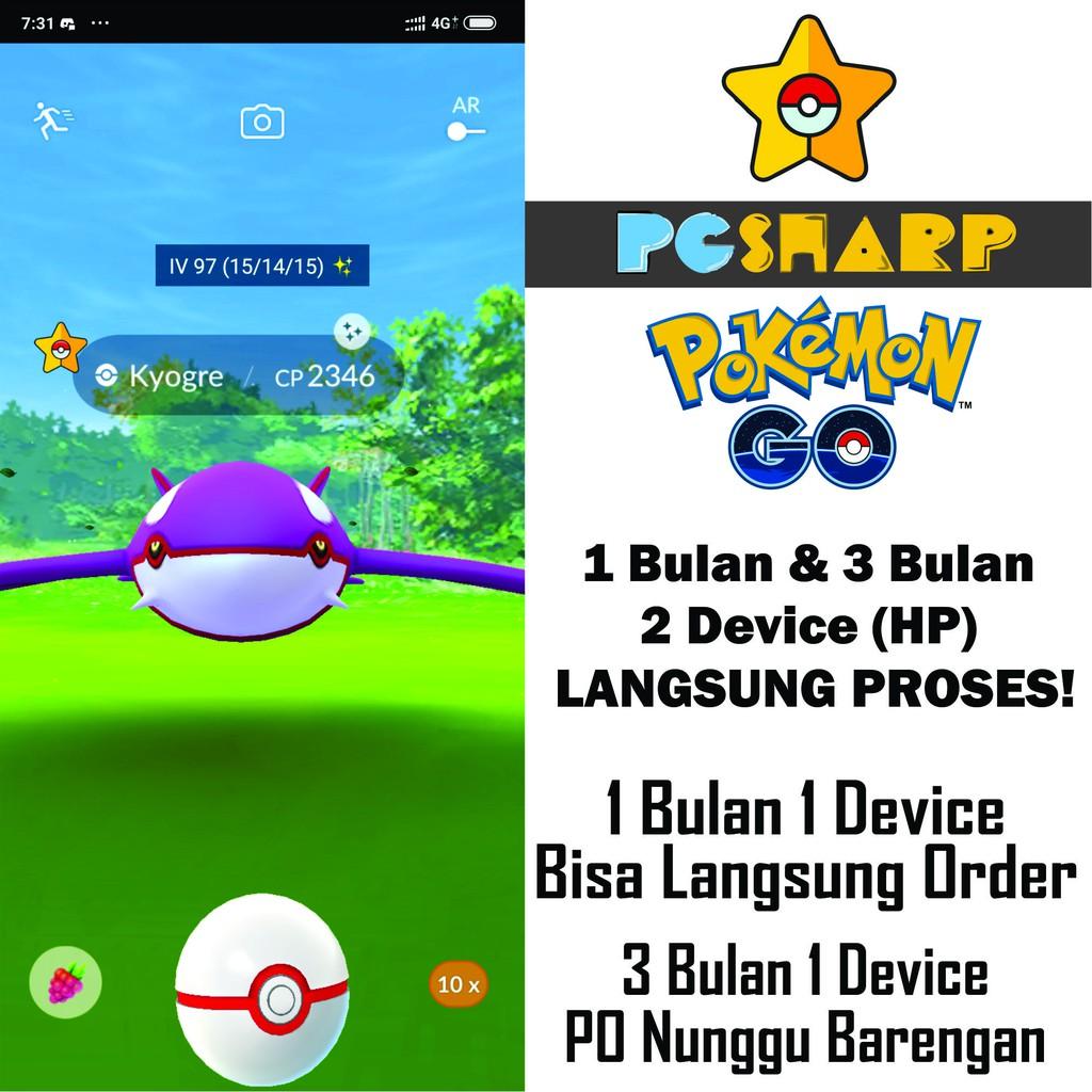 Lisensi Key License PGSHARP Pokémon Go Semua Android ...