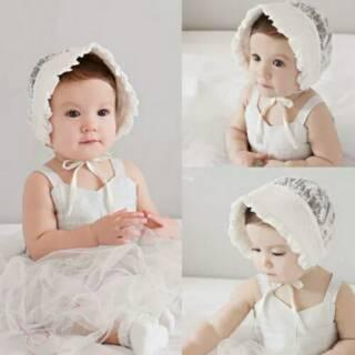 Topi bayi topi anak topi bayi import baby hat topi bayi noni top bonnet topi  noni topi polkadot topi 43db8d0dc8