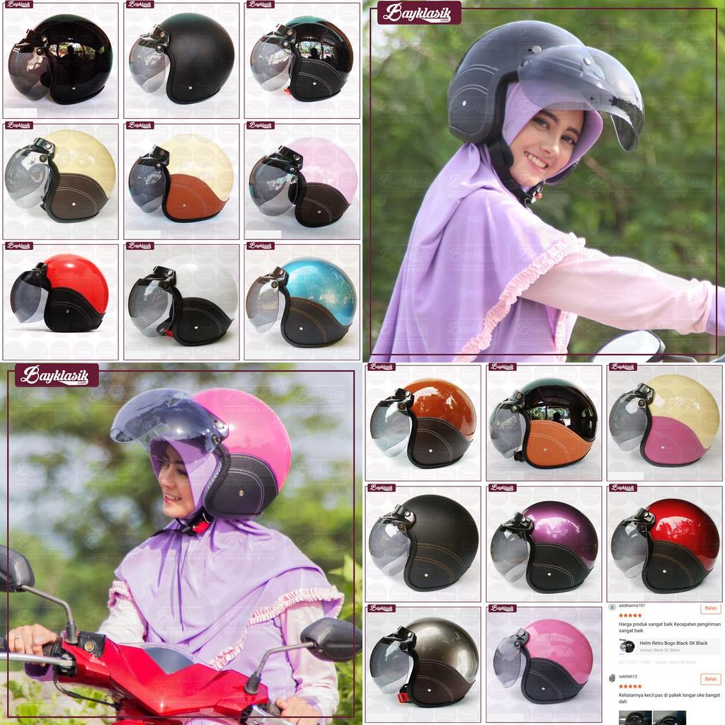 Helm motor SNI dewasa premium murah all size half face takira | Shopee Indonesia