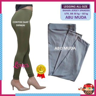 Legging Panjang Leging Bahan Kaos Spandek Lejing Wanita Celana Legging Wanita Bahan Import Lg3 Shopee Indonesia