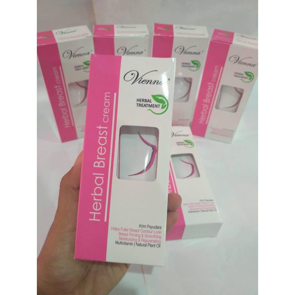 Bpom Vienna Breast Cream Pembesar Pengencang Payudara Hoshi Shopee Indonesia