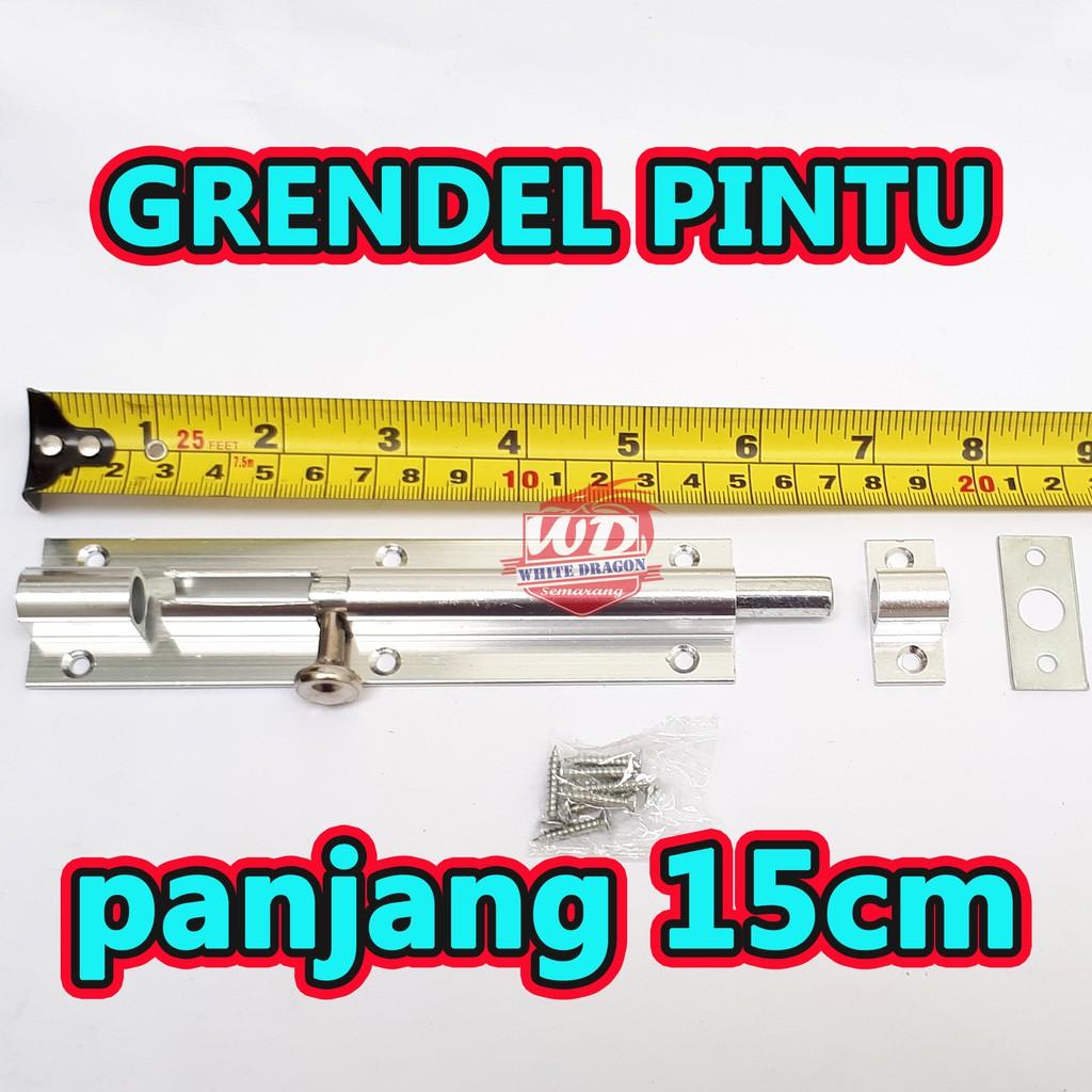 Grendel Pintu Panjang 15cm Grendel Pintu Kupu Tarung Grendel Pintu Dobel Shopee Indonesia Grendel pintu kupu tarung