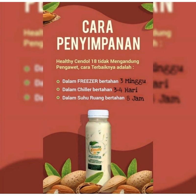 Healthy Cendol 18 Minuman Cendol Sehat Original Dan Banana Shopee Indonesia