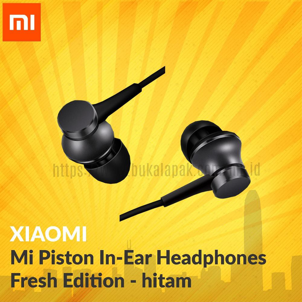 Xiaomi ORIGINAL Mi Piston In-Ear Headphones Fresh Edition | Shopee Indonesia