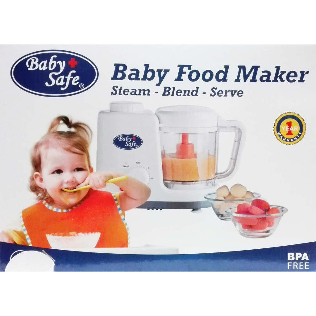 Baby Safe Food Maker Lb 003 Blender Makan Hot  Pigeon Home Alat Pembuat Mpasi Shopee Indonesia