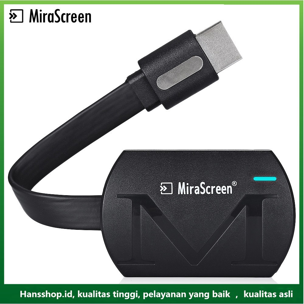 MiraScreen G4 TV Stick Dongle Anycast G4 Cast Iron HDMI WiFi Receiver Miracast