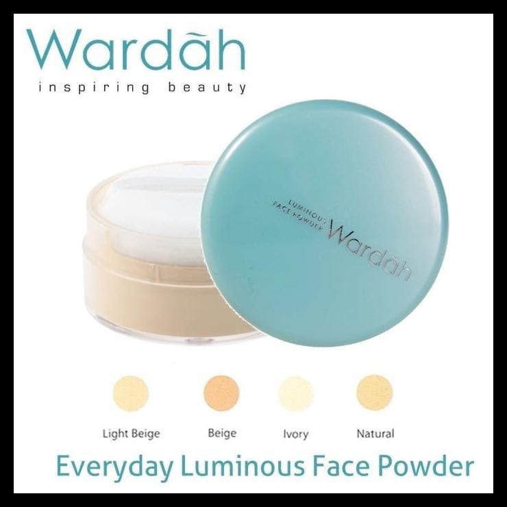 Promo Shopee REFILL Wardah Everyday Luminous Face Powder Isi Ulang Bedak Tabur QR0501 | Shopee Indonesia