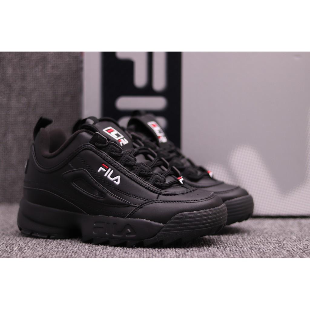 Sepatu Sneakers Olahraga Desain Fila Warna Putih Bertali  8dab853af7