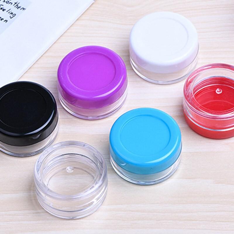 Sample Cream Plastic Container Jar