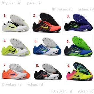 Sepatu Running Lari Track Sprint Spikes Athletic Shopee Indonesia