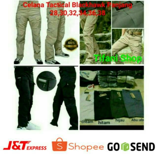 (BEST SELLER ) Celana Panjang Tactical Blackhawk / 511 Lokal | Shopee Indonesia