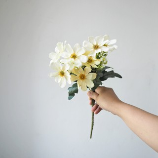 bunga daisy pastel / artificial pastel daisies (b19091