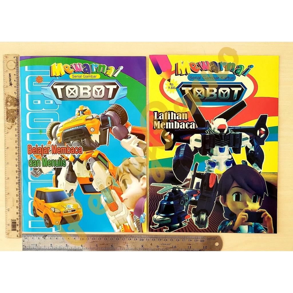 Buku Mewarnai Model Campur Tobot Super Hero Uk 28Cm X 21Cm