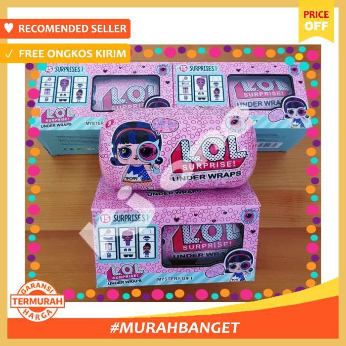 Mainan Anak) Lol Surprise Under Wraps Series Eye Spy Dapet Box ... 7a461b327d