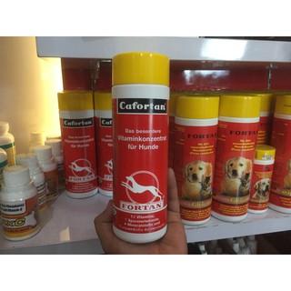 Fortan Cafortan 300gr multi vitamin anjing isi 600 tablet | Shopee Indonesia