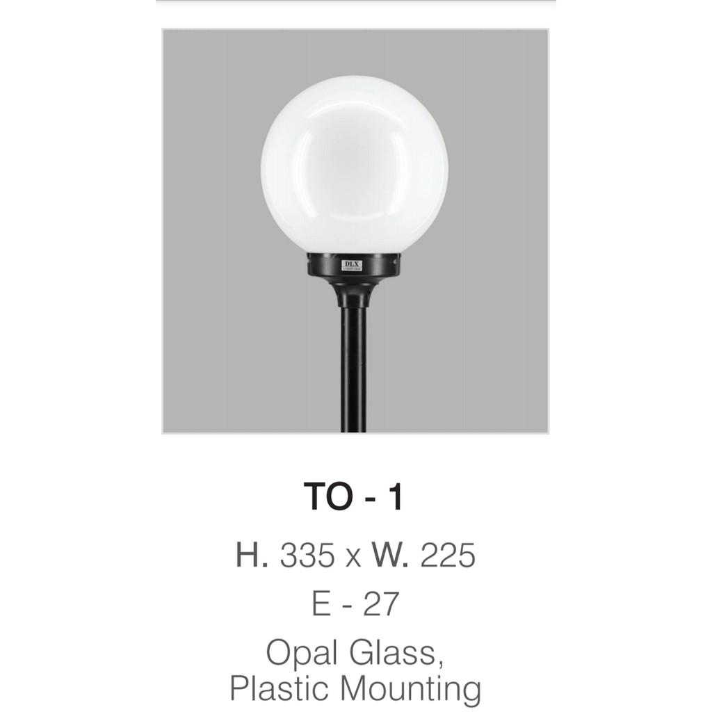 Jual Lampu Taman Bulat Diameter 22 5cm To 1 Shopee Indonesia
