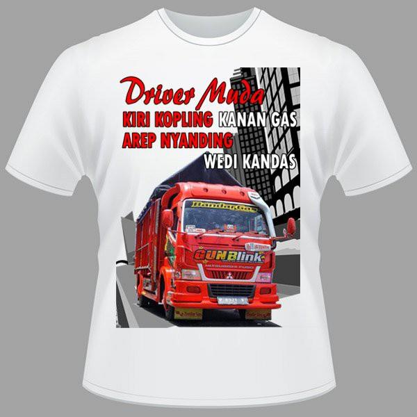 Kaos Bis KAMT Bus Truk Modifikasi Jawa Timur Truck Lover Mania TMC