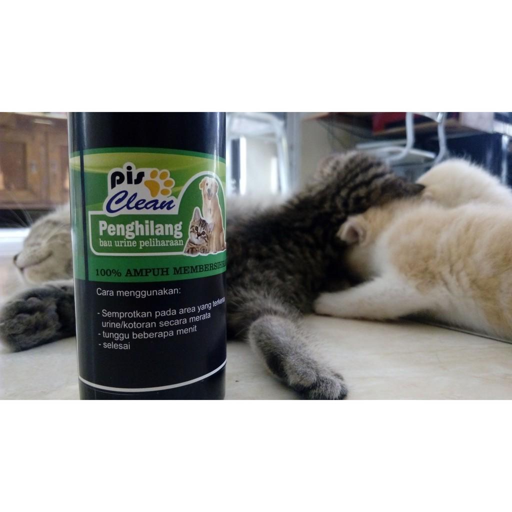 PISCLEAN Semprotan ajaib penghilang bau pipis hewan kucing , hamster dan anjing | Shopee Indonesia