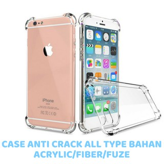 Anti Crack Case Case Anticrack Fiber Fuze Acrylic ALL TYPE. suka: