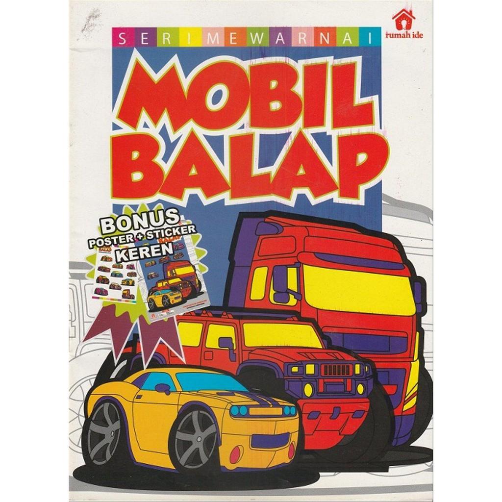 Dijual Seri Mewarnai Mobil Balap Limited Shopee Indonesia