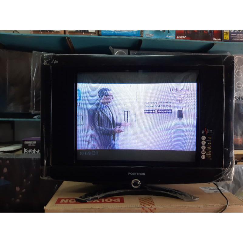 Tv Tabung Polytron Uslim 21inch