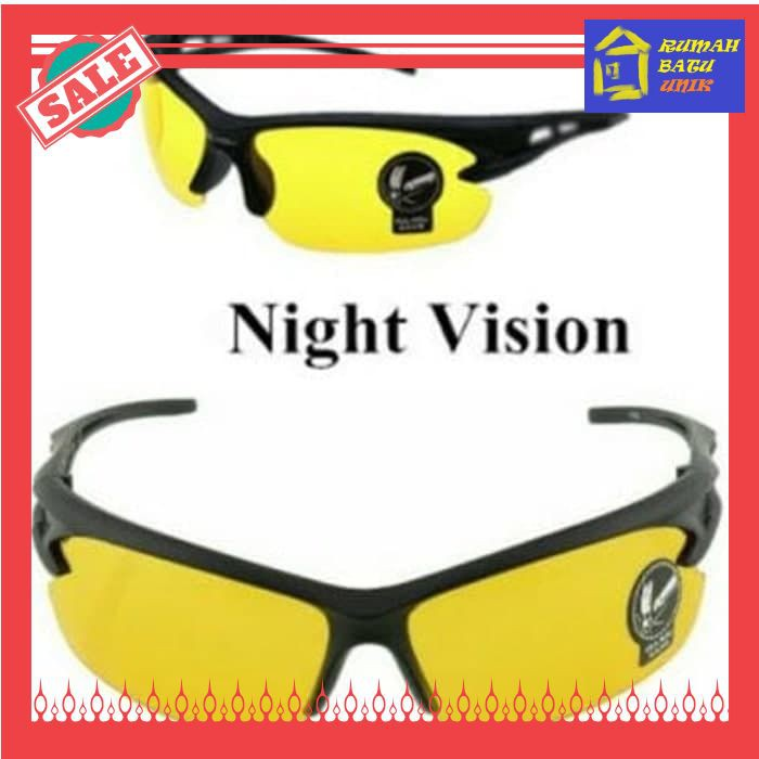 White Sands Night View Glasses Vision Kacamata Anti Silau Di Malam ... 0022b1bf5e