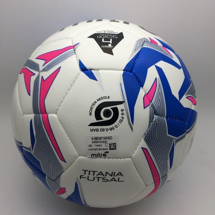 Bola Futsal Mitre Smu Titania Futsal White Blue BB1971WWD Ori BNWT ... c480afb300638