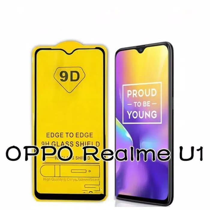 Tempered Glass Full 9d Oppo Realme U1 Shopee Indonesia