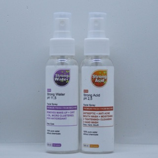 Strong Water 100 ML + Strong Acid 100 ML