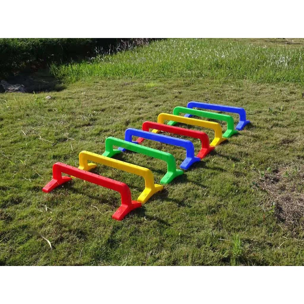 Mainan Outdoor Anak Anak Plastik Rintangan Olahraga Bor Cincin Bor Permainan Outdoor Tradisional M