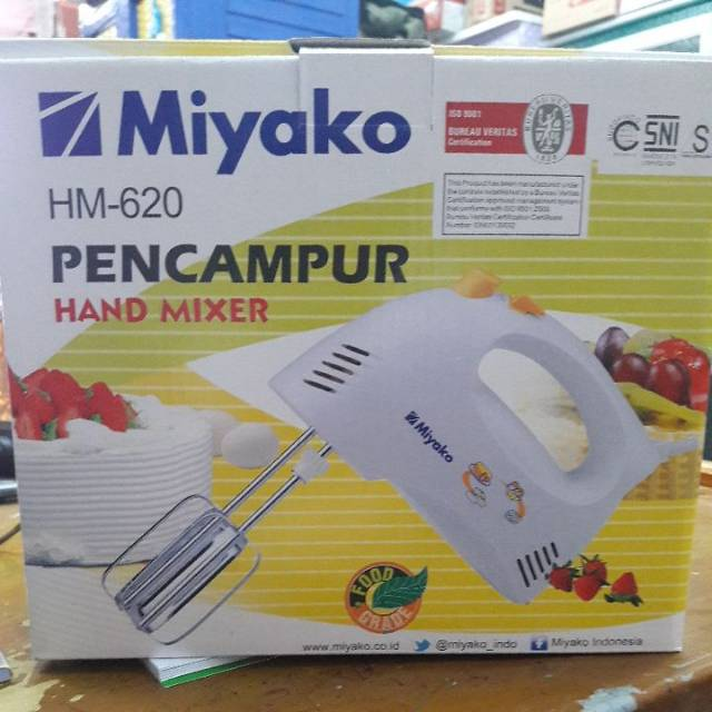Miyako Hand Mixer Hm 620 Putih