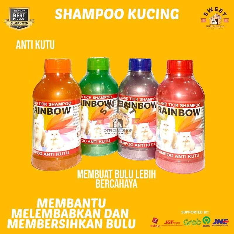 Rainbow - Shampo Anti Kutu Kucing Original 250 ml