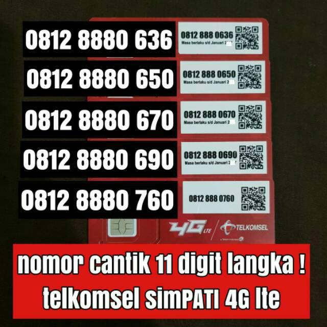nomer cantik nomor cantik TELKOMSEL LOOP kartu perdana harga obral   Shopee Indonesia
