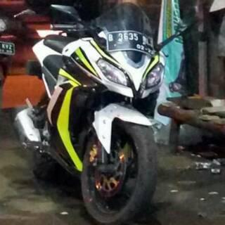 Full Fairing Ninja Fi Kondom Tangki Byson Shopee Indonesia