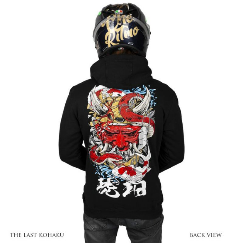 HOODIE PROSTREET THE LAST KOHAKU V3 NEW ORIGINAL | NOT BLOOD FLOWER | NOT ORIENTAL