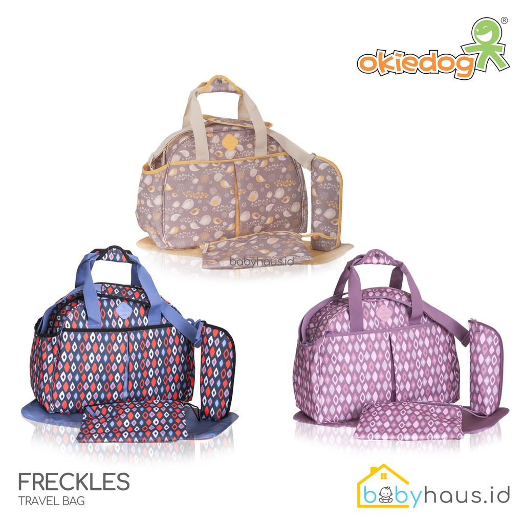 Okiedog Freckles Cooler Bag Shopee Indonesia Travel Bird