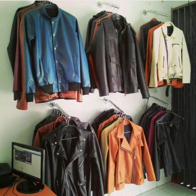 Jaket Kulit Asli 100% Termurah Jogja Bisa Pesan Model N Ukuran Sendiri CWO 109 | Shopee Indonesia
