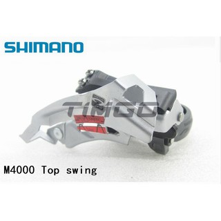 New Shimano Acera FD-M390 Triple Front Derailleur Top swing 31.8//34.9mm 3-speed