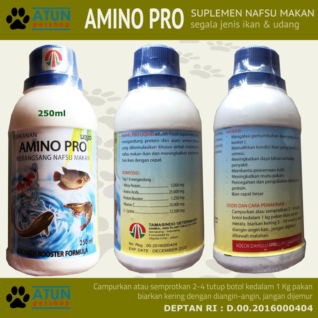 Vitamin Ikan Agar Cepat Besar Amino Pro Shopee Indonesia